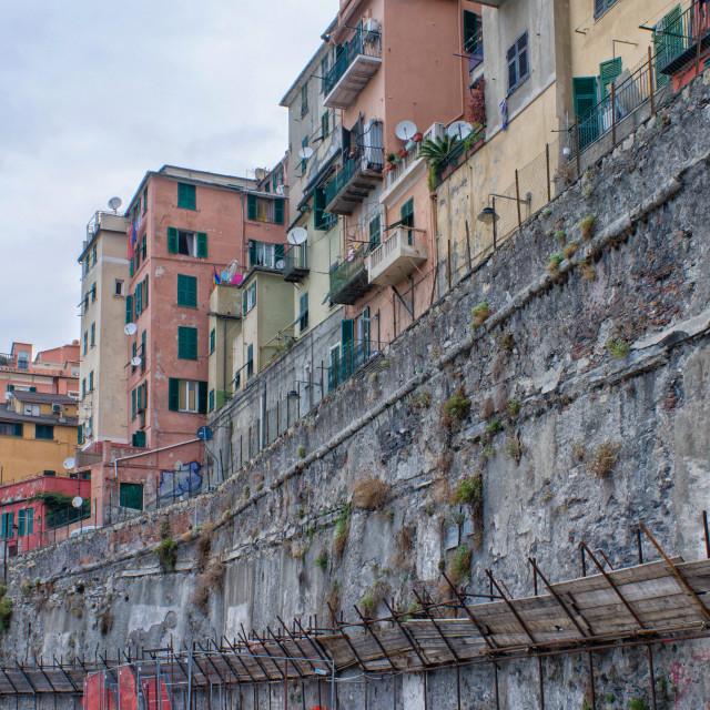 """Construction Of Genoa"" stock image"