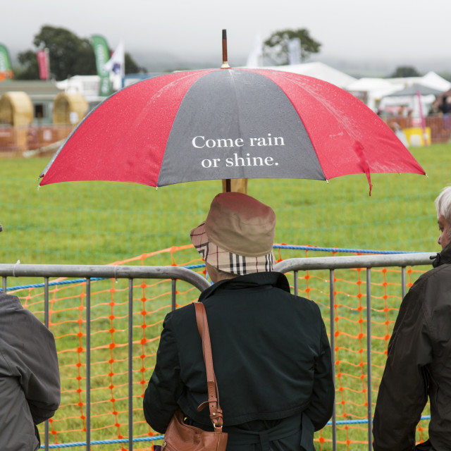 """""""Frome Agricultural Show"""" stock image"""