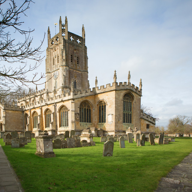 """St Mary's Church"" stock image"