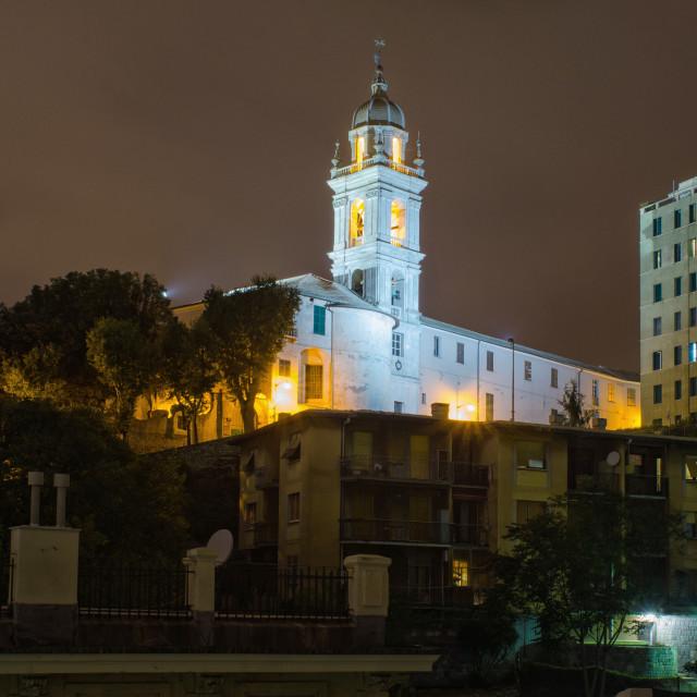 """Church In The Neighborhood"" stock image"
