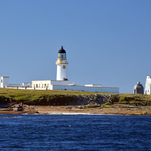 """Stroma Lighthouse"" stock image"