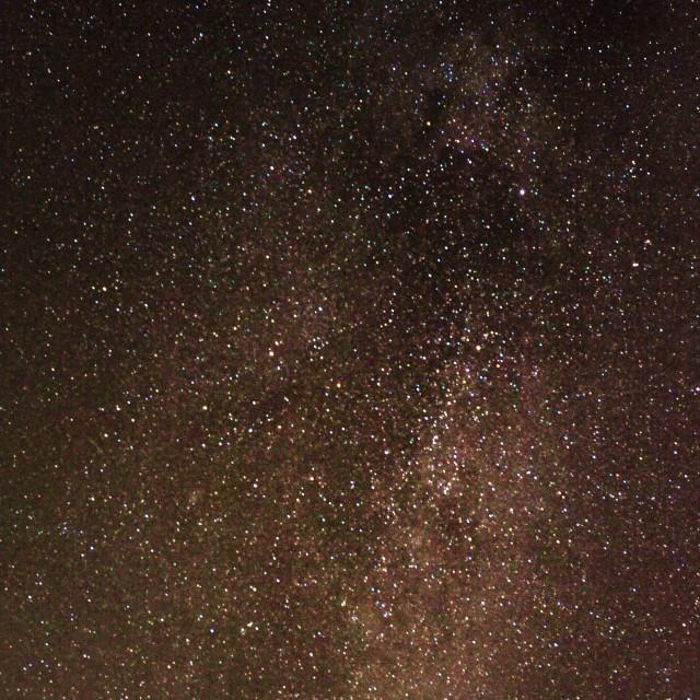 """Tonights Milky Way"" stock image"
