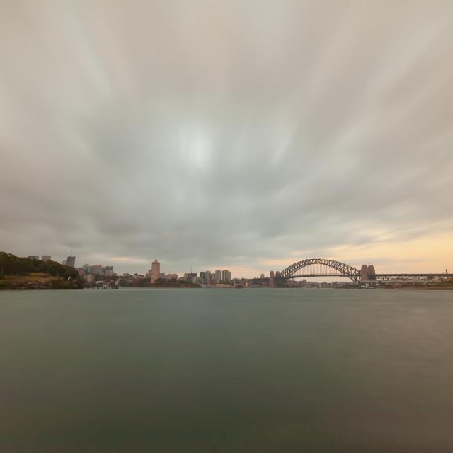 """Sydney harbour"" stock image"