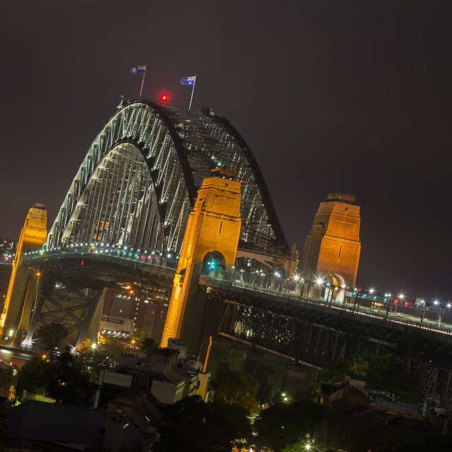 """Sydney Harbour Bridge"" stock image"