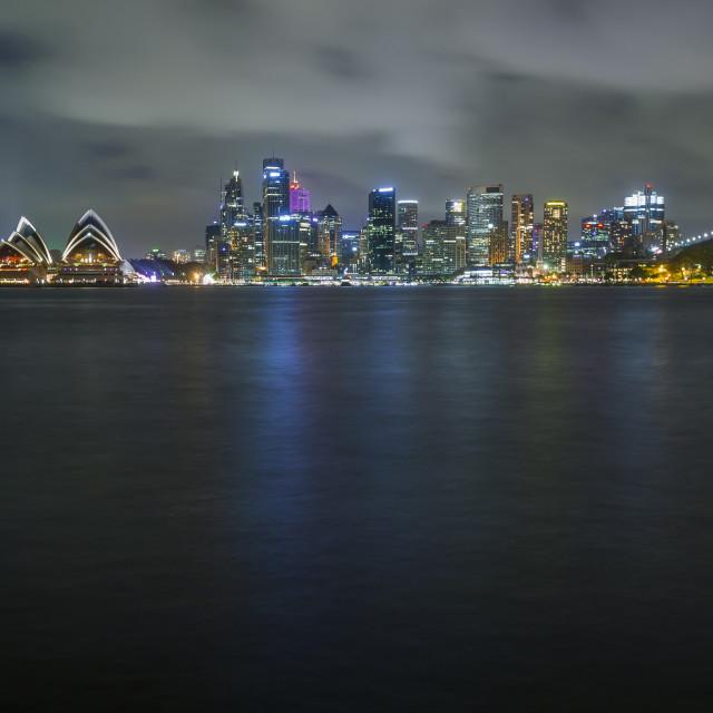 """Sydney cityscape"" stock image"
