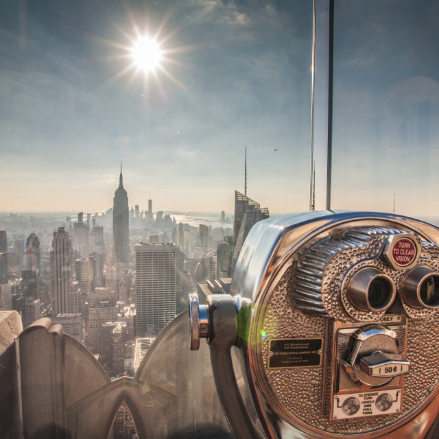 """""""Top of the Rock"""" stock image"""