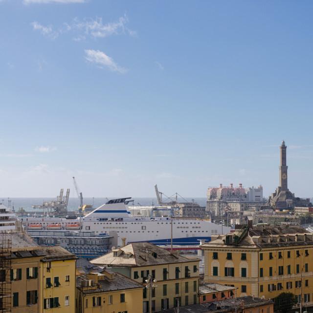 """Sunny Day In Genoa"" stock image"