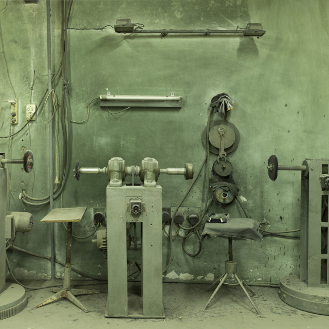 """Old manufactory."" stock image"