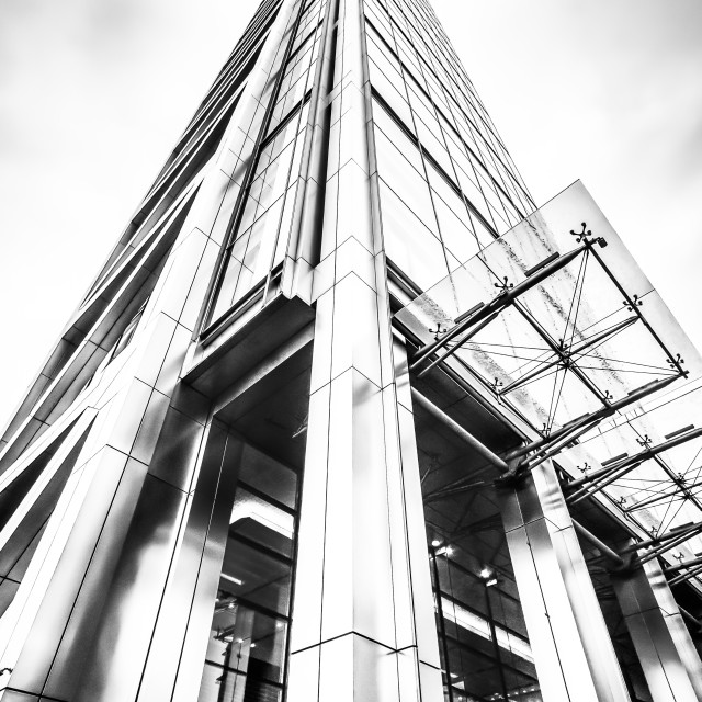 """The Heron Tower"" stock image"