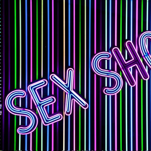"""Sex shop."" stock image"