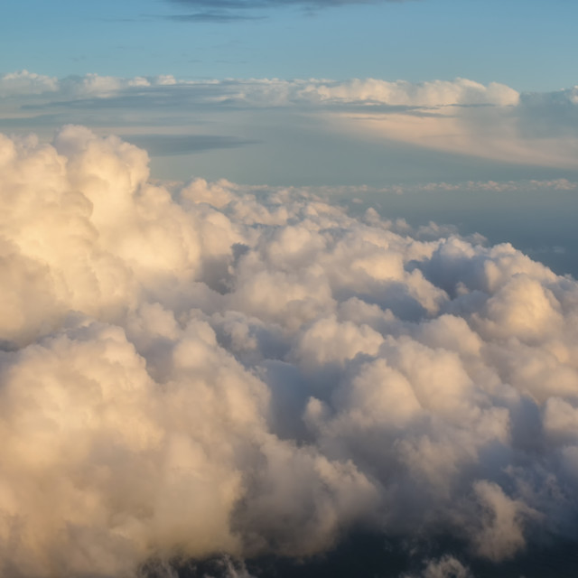 """""""Above Clouds"""" stock image"""