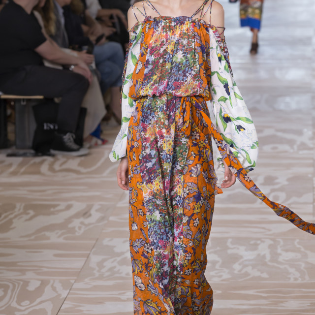 """""""Tory Burch - Spring 2017 Collection"""" stock image"""
