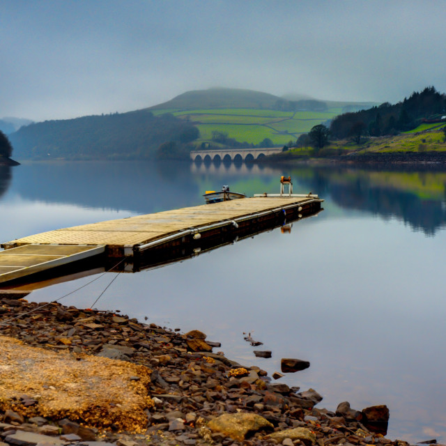 """ladybower reservoir"" stock image"