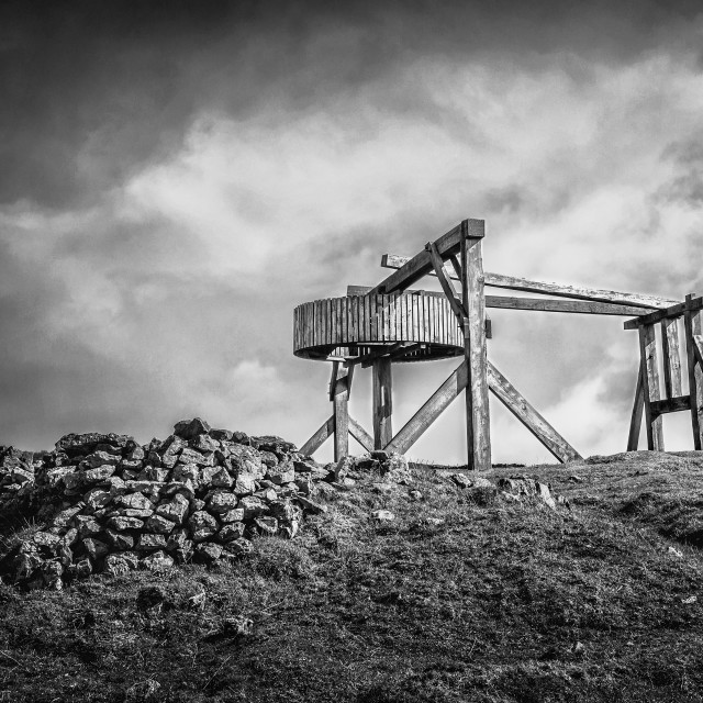 """magpie mine"" stock image"