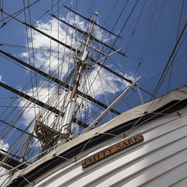 """Cutty Sark Abstract"" stock image"