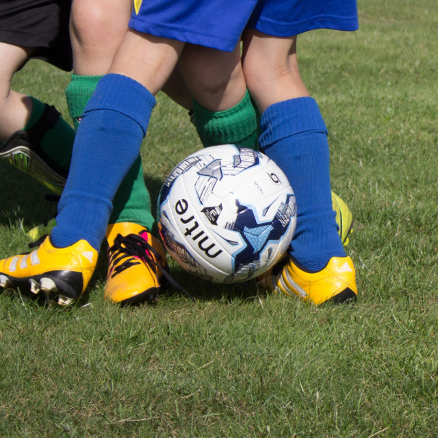 """Football Tackle"" stock image"