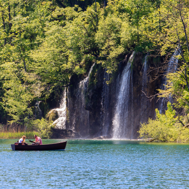 """Plitvice national park"" stock image"