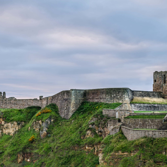 """Tynemouth Priory"" stock image"