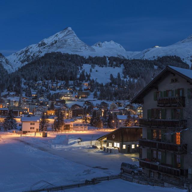 """""""Davos Awakes."""" stock image"""