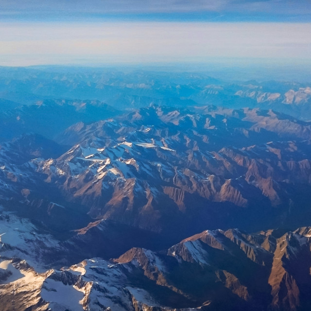 """Alp Mountains"" stock image"