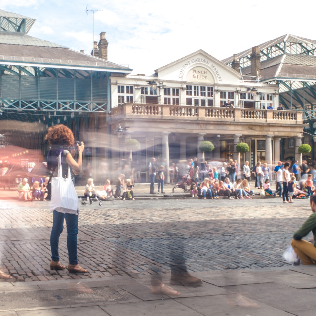 """Covent Garden Piazza"" stock image"