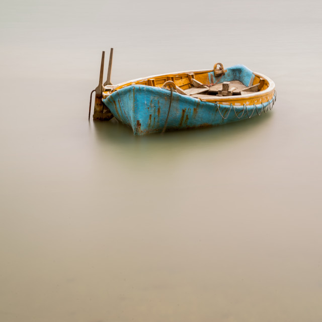 """A boat"" stock image"