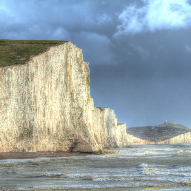 """Seven Sisters"" stock image"