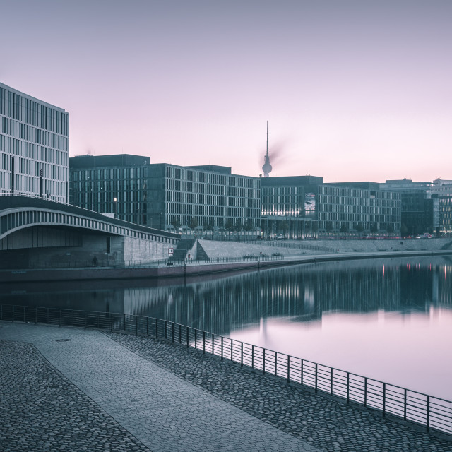 """Modern office buildings in Berlin"" stock image"