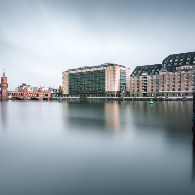 """Oberbaumbridge in Berlin, Germany"" stock image"