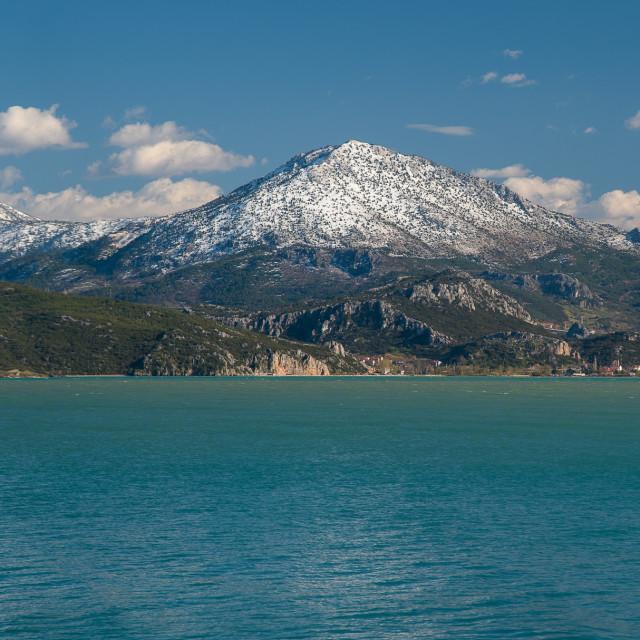 """""""Lake Egirdir, Turkey"""" stock image"""