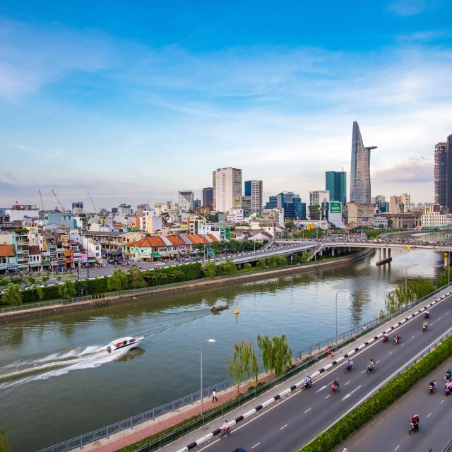 """Ho Chi Minh city, Viet Nam"" stock image"