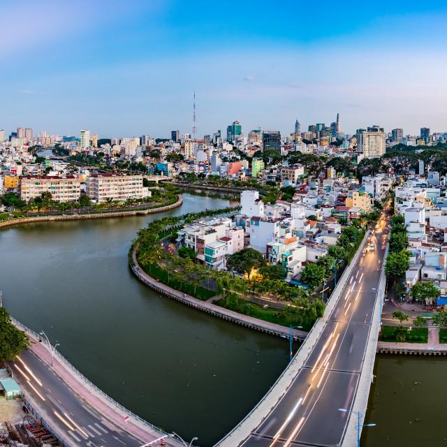 """Ho Chi Minh city (Sai Gon), Viet Nam"" stock image"