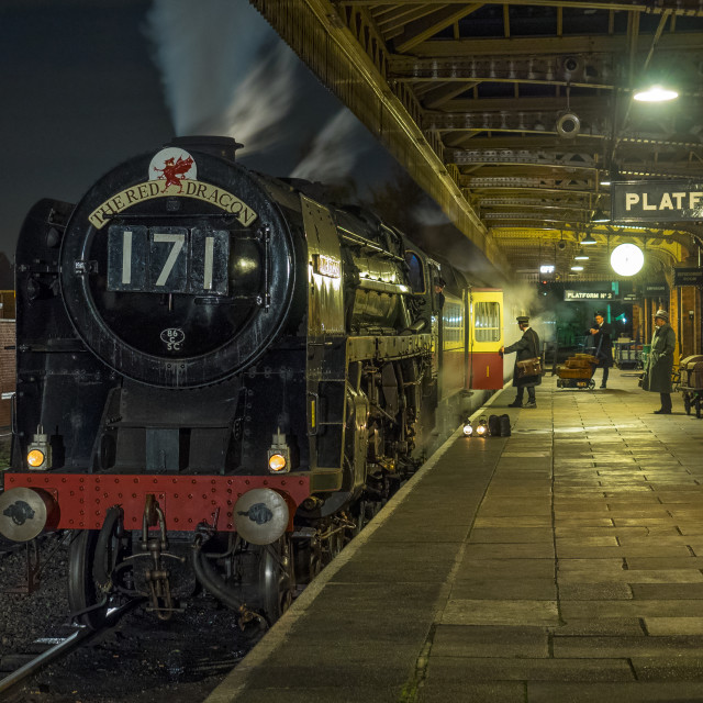 """""""Oliver Cromwell at Loughborough"""" stock image"""
