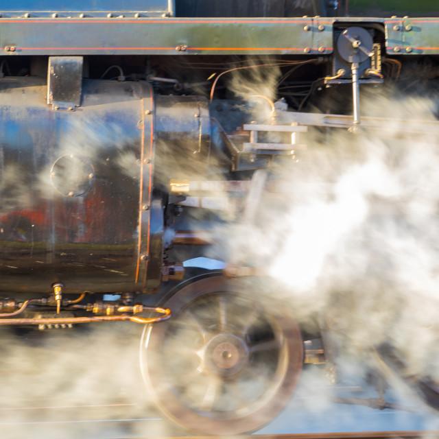 """Clyinders of Steam"" stock image"