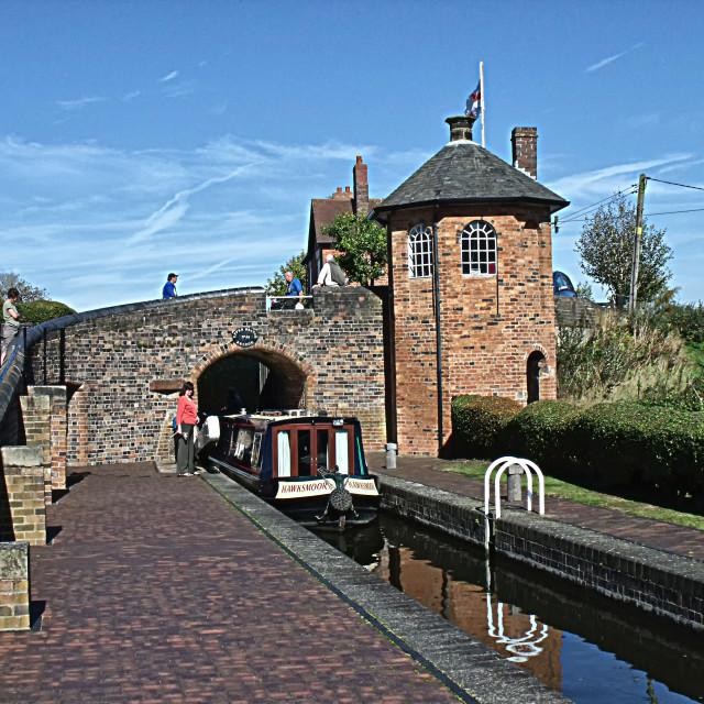 """Canal scene"" stock image"