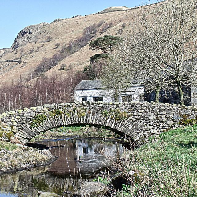 """""""Lake District"""" stock image"""