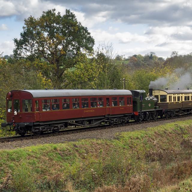 """GWR No.1450"" stock image"