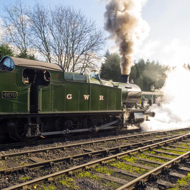 """GWR No.4270"" stock image"