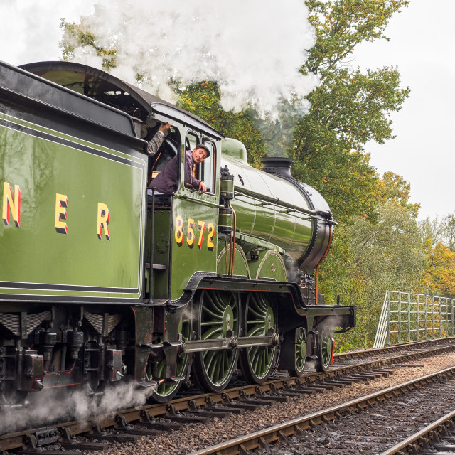 """LNER B12 No.8572"" stock image"