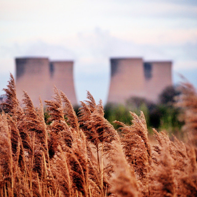 """Cooling towers"" stock image"