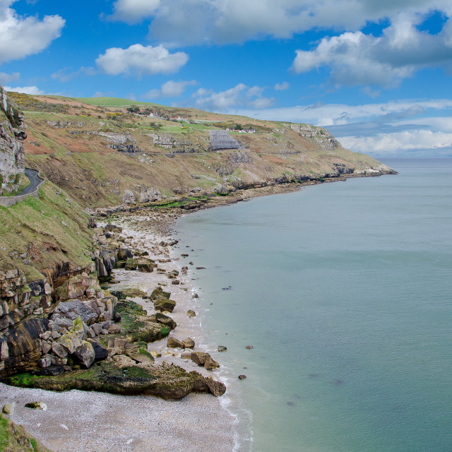 """Great Orme"" stock image"