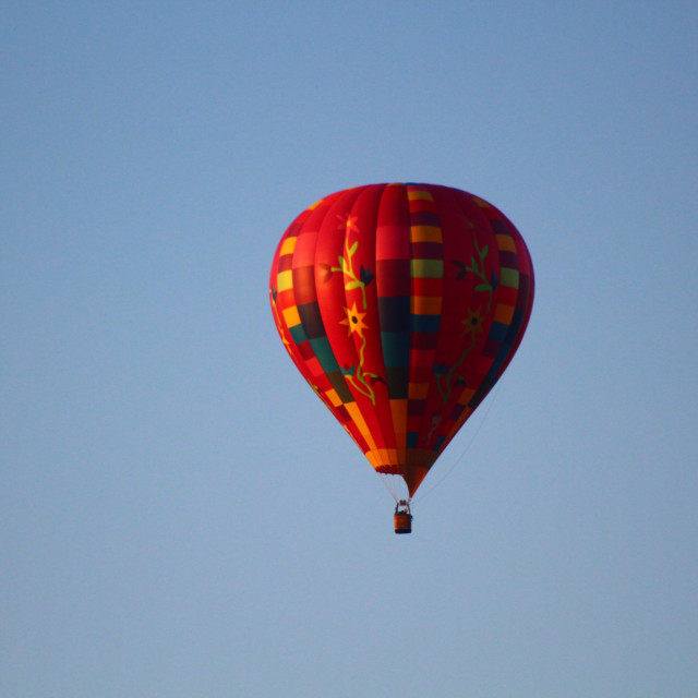 """Hot Air Balloon"" stock image"