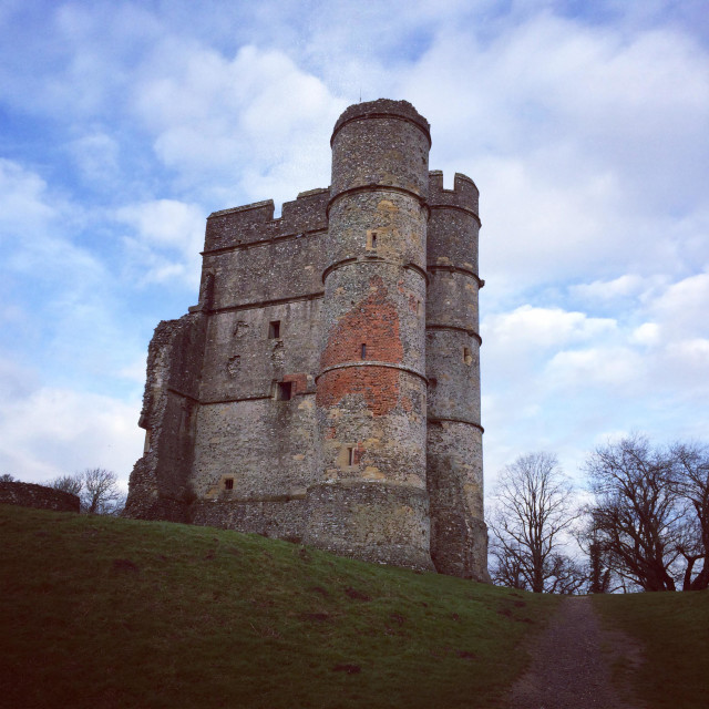 """Donnington Castle in Berkshire"" stock image"