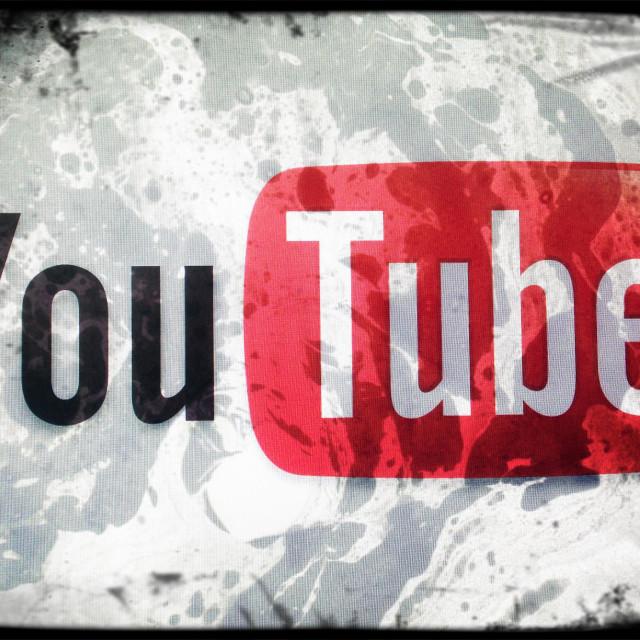 """""""You Tube logo"""" stock image"""