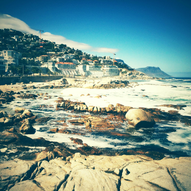 """Clifton, South Africa"" stock image"