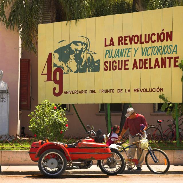 """La Revolucion."" stock image"