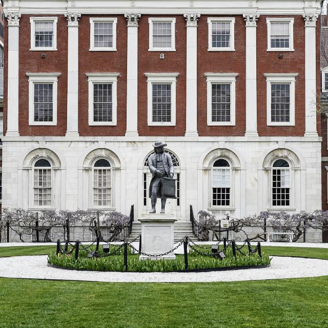 """Pennsylvania Hospital, Philadelphia, Pennsylvania, USA. Circa 1756. First hospital in the USA."" stock image"