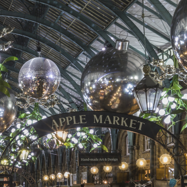 """Apple Market Covent Garden."" stock image"