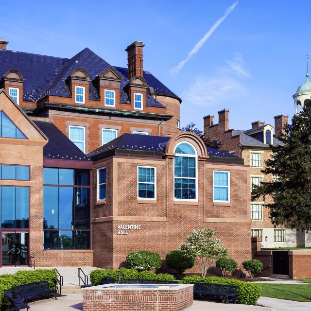 """Lutheran Theological Seminary campus, Gettysburg, Pennsylvania, USA"" stock image"