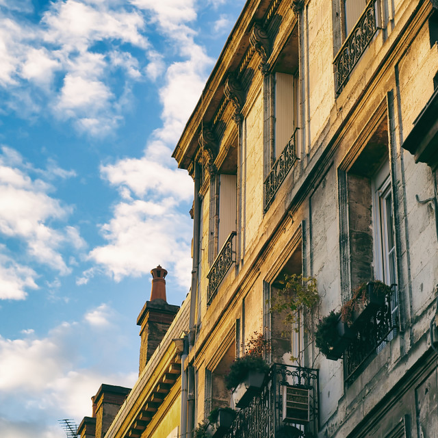 """Bordeaux Architecture"" stock image"